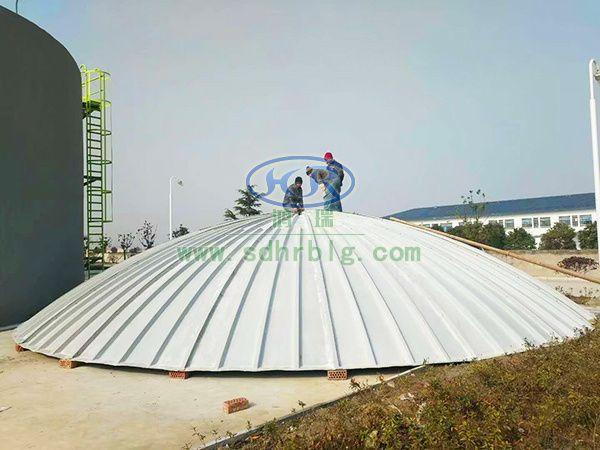 米6体育官网圆形污水池罩