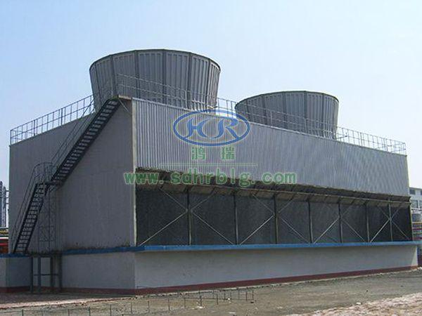 大型并联逆流式冷却塔