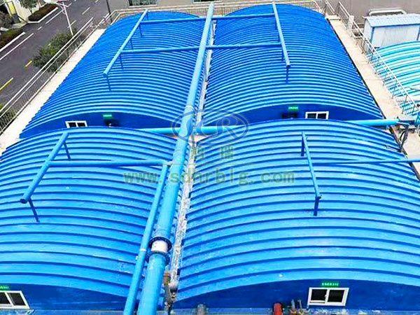 污水池罩工程案例