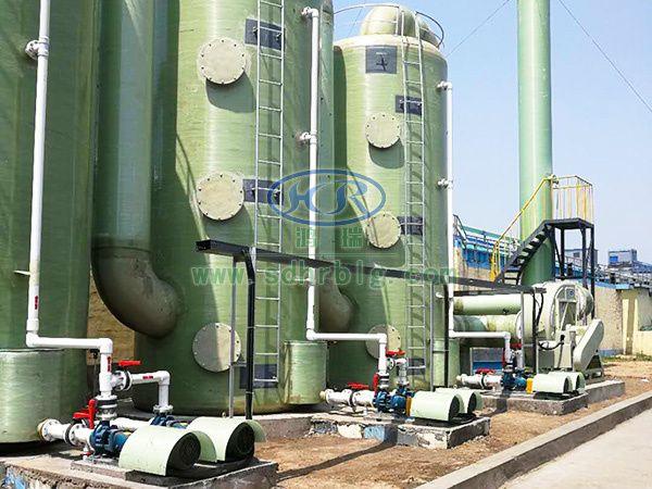 VUC废气治理工程案例-山西